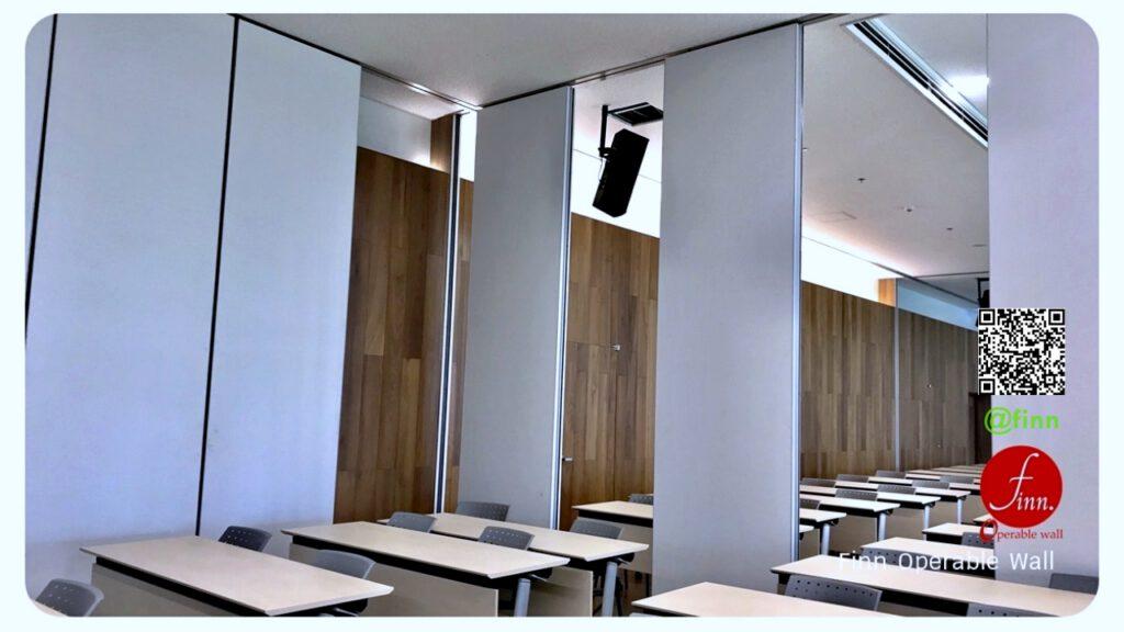 ผนังบานเลื่อนกันเสียง กั้นห้องประชุม FINN De'cor สำหรับโรงแรม และศูนย์ประชุม (28)